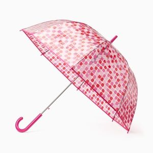 New kate spade Tricolor Seaglass Dot Umbrella